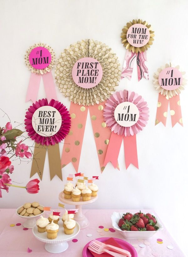 Oversize mother s day awards diy oh happy day bloglovin for Awards decoration