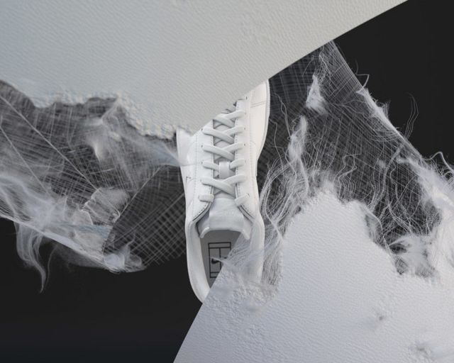 Nike Flyleather looks like leather, feels like leather, behaves like leather,  but is actually a composite made with the discarded leather scraps gathered  ...