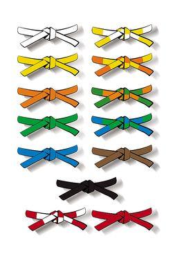 site professionnel sortie d'usine correspondant en couleur Organiser sa classe pour les ceintures   Charivari à l'école ...