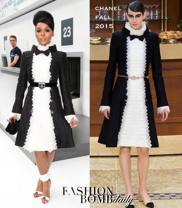 Hot! or Hmm…: Janelle Monae's Chanel Spring 2016 Show Chanel