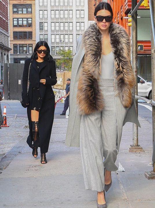 d8334e89566c The post Hot! or Hmm…  Kylie Jenner s New York City Haider Ackermann Black  Wool Coat