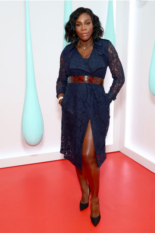 1b63d621972b On the Scene: The Burberry DK88 Bag Launch with Serena Williams ...