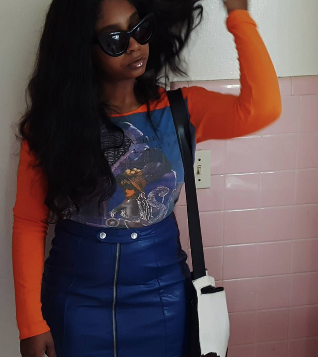 Fashion Bombshell of the Day: Alesia from Baltimore   The