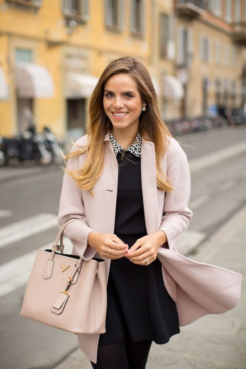 Just A Girl In Her Pink Coat  e75b0f605