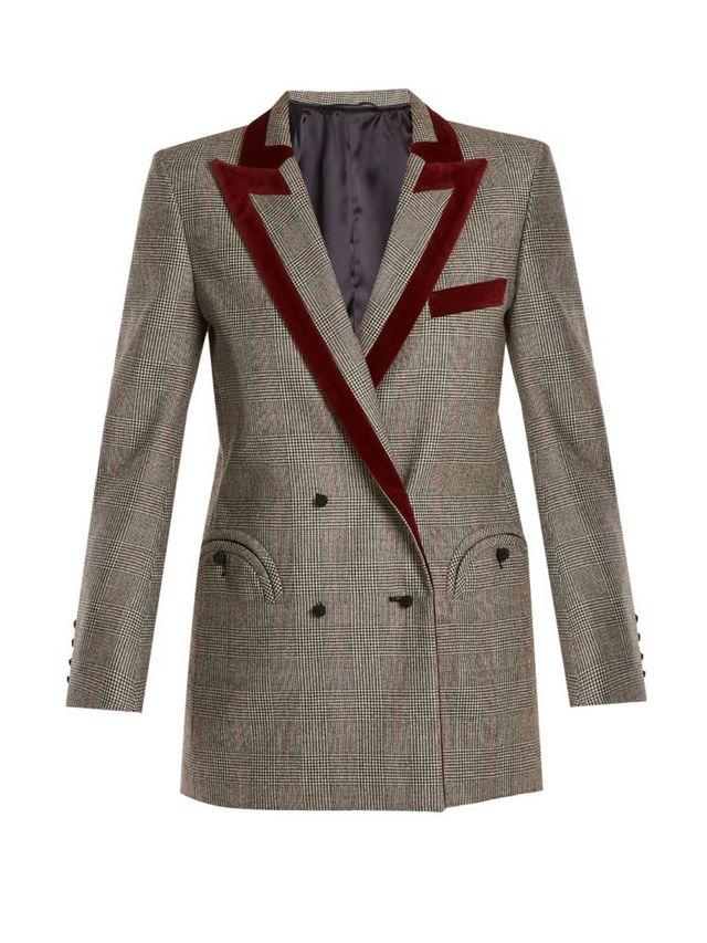 ab0b8a20db1 Blasé Milano Everyday Checked Wool Blazer