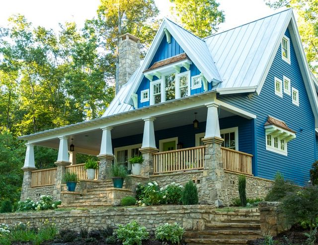 They Describe It As A Storybook Cottage With Craftsman Style Charm That Puts Fresh Spin On Classic American House