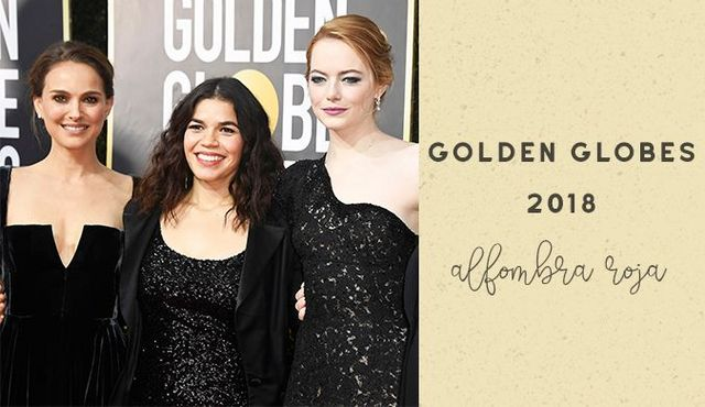 2a0de37c6 Golden Globes 2018 - La alfombra roja