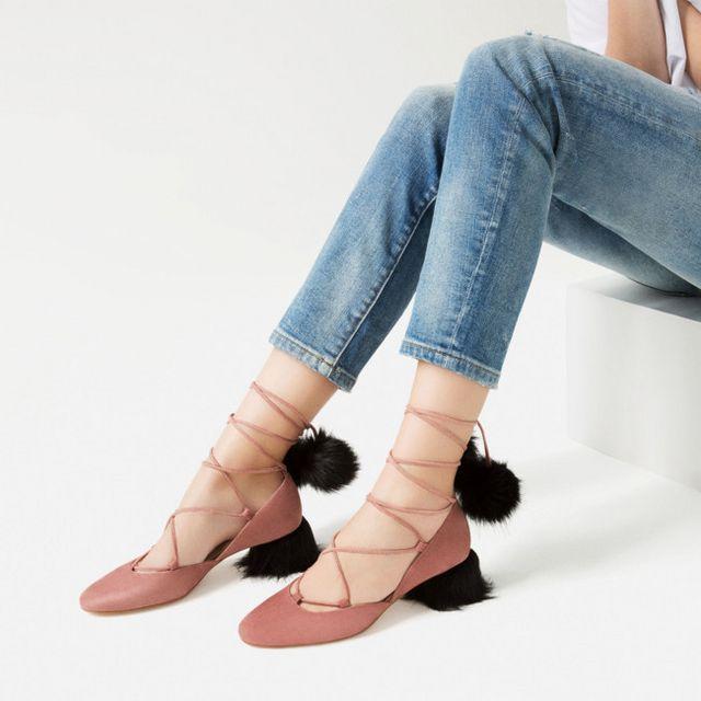 d68eb21f4 La nueva colección de calzado de Zara te va a dejar con la boca ...