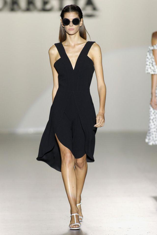 f3e6f6ade9e0 Madrid se convierte durante estos días en la capital de la moda española.  El arranque de la Mercedes Benz Fashion Week Madrid, la pasarela Cibeles de  ...