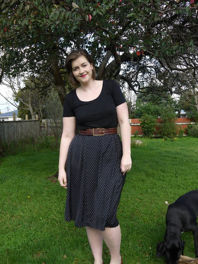 Pattern review: Sewaholic Rae Skirt | Curvy Sewing Collective ...