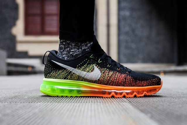 size 40 a3b78 bd2e4 A merging of two iconic models, Nike presents the Nike Flyknit Air Max.  Pairing the lightweight fit of Nike Flyknit with the cushioned lower of an Air  Max, ...
