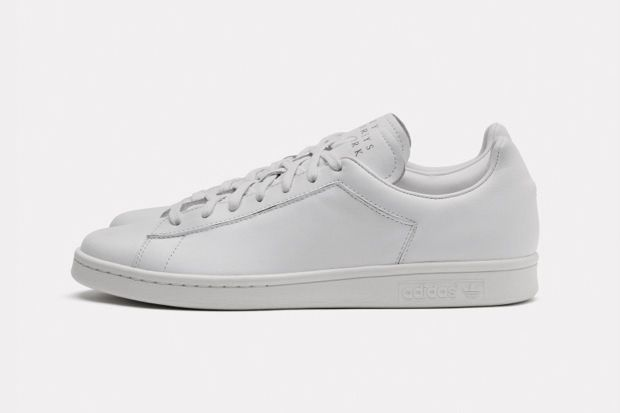 3ce508ba71a2 adidas Originals presents a three-way collaboration of sorts with a clean  iteration of its reborn Stan Smith silhouette. The sneaker is done up in  three ...