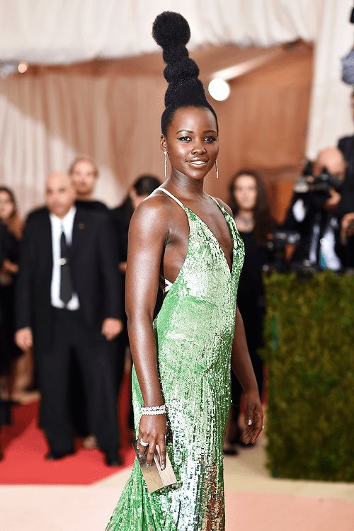 Image result for Lupita Nyong'o Talks Being 'Shunned' for Her Natural Hair