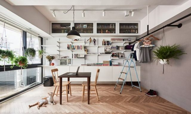 Un mini loft à Taiwan | PLANETE DECO a homes world | Bloglovin\'