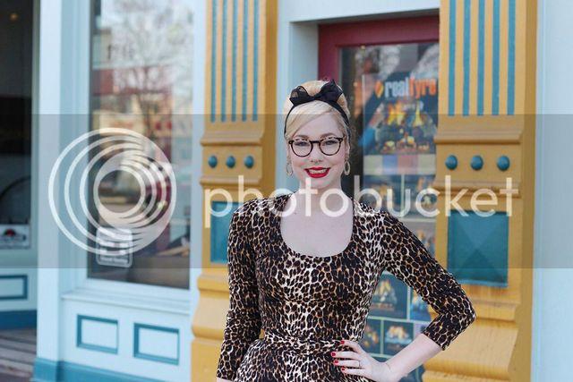 e4b4ff16f9 Lots of Leopard. Katie  Wild Leopard Troublemaker Dress - Vixen by Micheline  Pitt ...