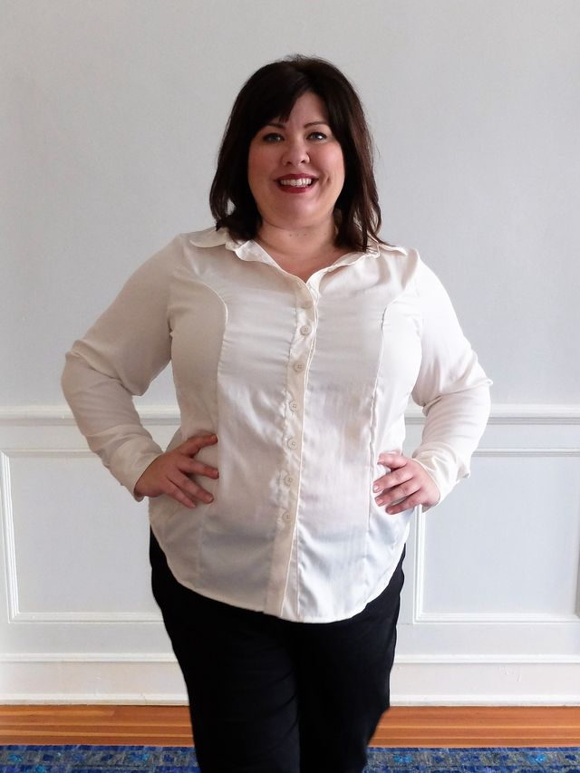 Pattern Review: Cashmerette Harrison Shirt | Curvy Sewing Collective ...