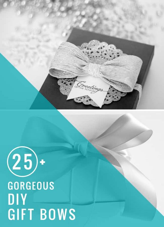 25 Gorgeous Diy Gift Bows That Look Professional Hello
