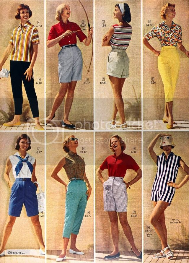 Charming Warm Weather Vintage Inspired Frocks Featuring: 25 Fabulous 1950s Spring Fashions To Inspire Your Wardrobe