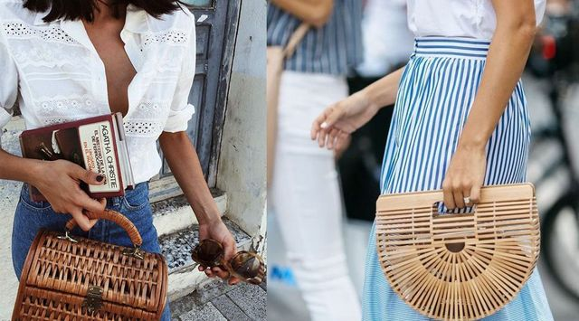 From Classic Wicker To Other Materials Straw And Different Weaves Decorating Pretty Chests Hide Small Epysodes Of Life The Post Zara Basket Bags
