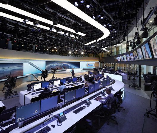 These projects provide a compelling new vision for how architecture, studio  design, broadcast media and digital technologies can make production and ...