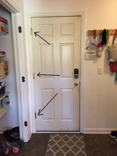 How To Easily Replace Door Hinges House Of Hepworths Bloglovin