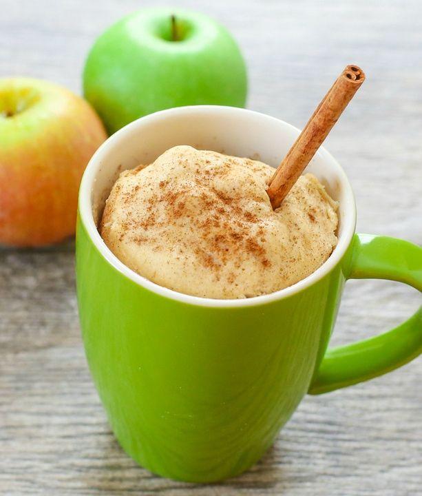 Skinny Apple Spice Mug Cake Kirbie