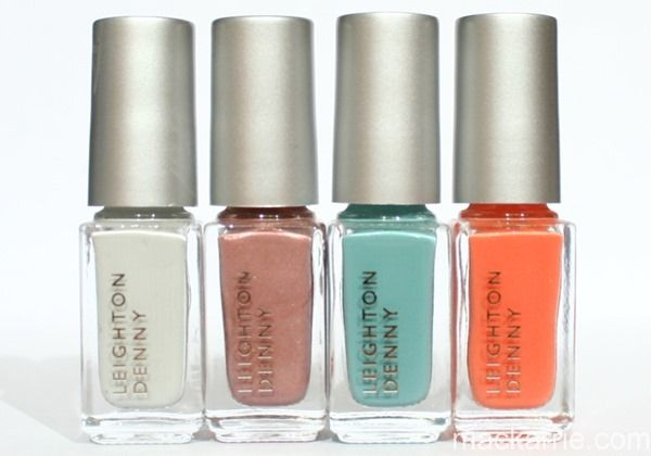 Leighton Denny Weekend Away Sweet Petites Collection Swatches ...