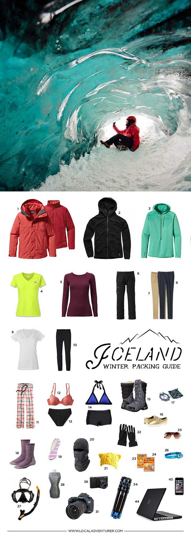 def1250c3 What to Pack for Iceland in the Winter – 10 Days in a Carry-On ...