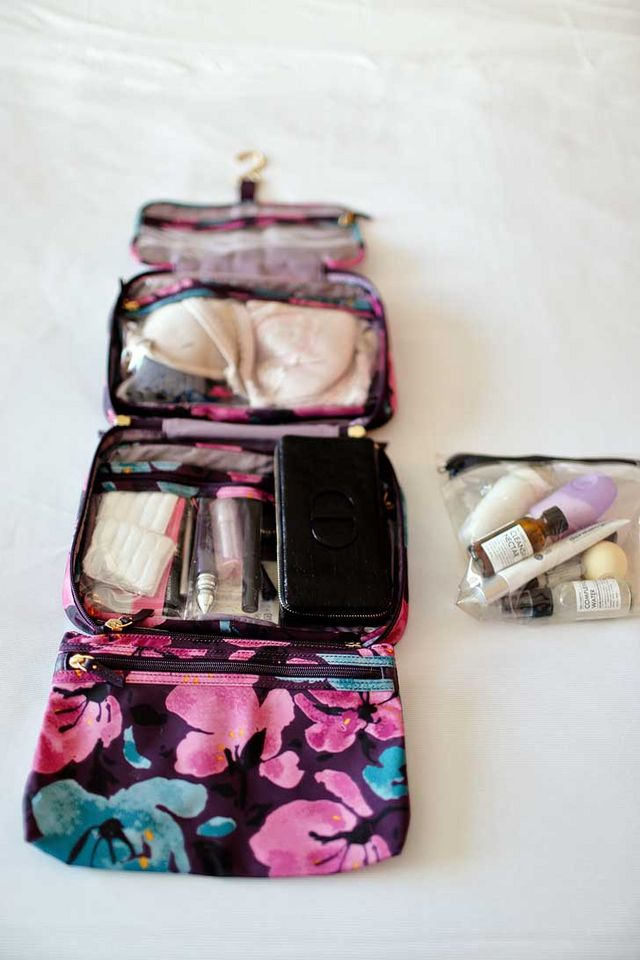 5829f4c30463 How to Pack Toiletries – Your Minimal Makeup Guide | Local ...