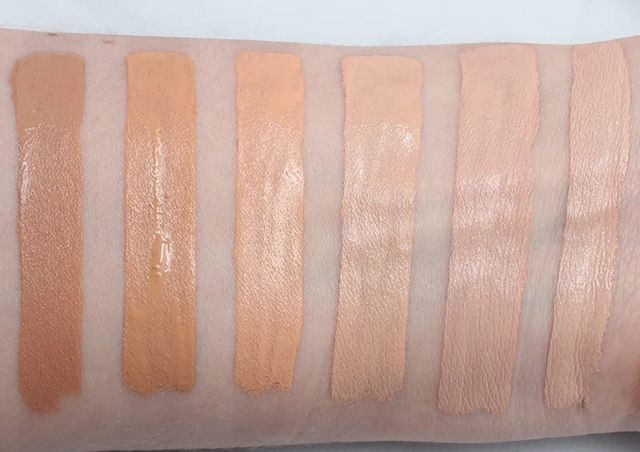 Too Faced Born This Way Natural Beige Vs Warm Beige