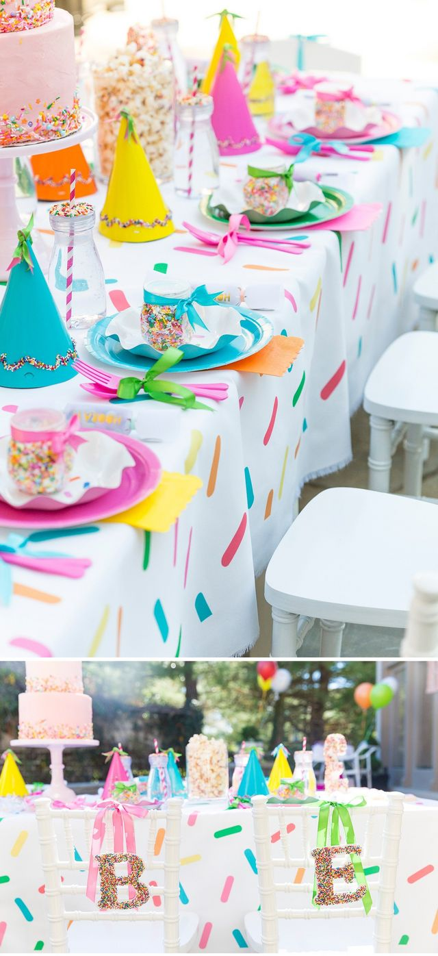 Blakely S Sprinkle Themed 3rd Birthday Party