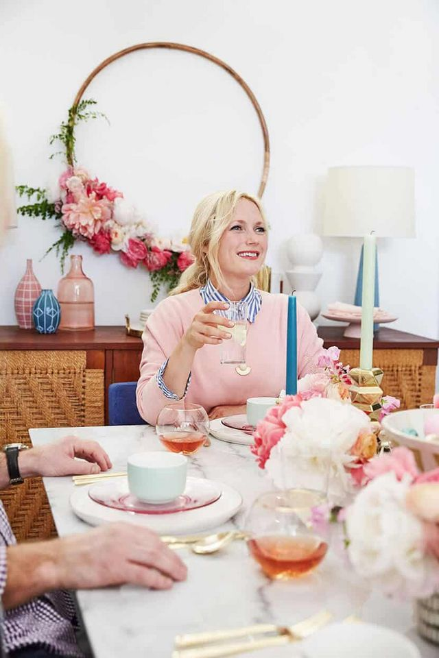 8f320462999 Welcome to our exploding pastel Easter brunch with Cooking Light. When I  was 8 months pregnant Cooking Light asked if they could do a feature at my  house to ...