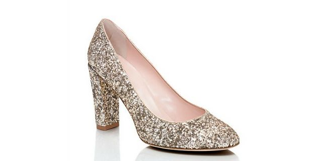 57a1dde5fbc9 Kate Spade Dani Too Heels in rose gold (also available in a multi color  sparkle)