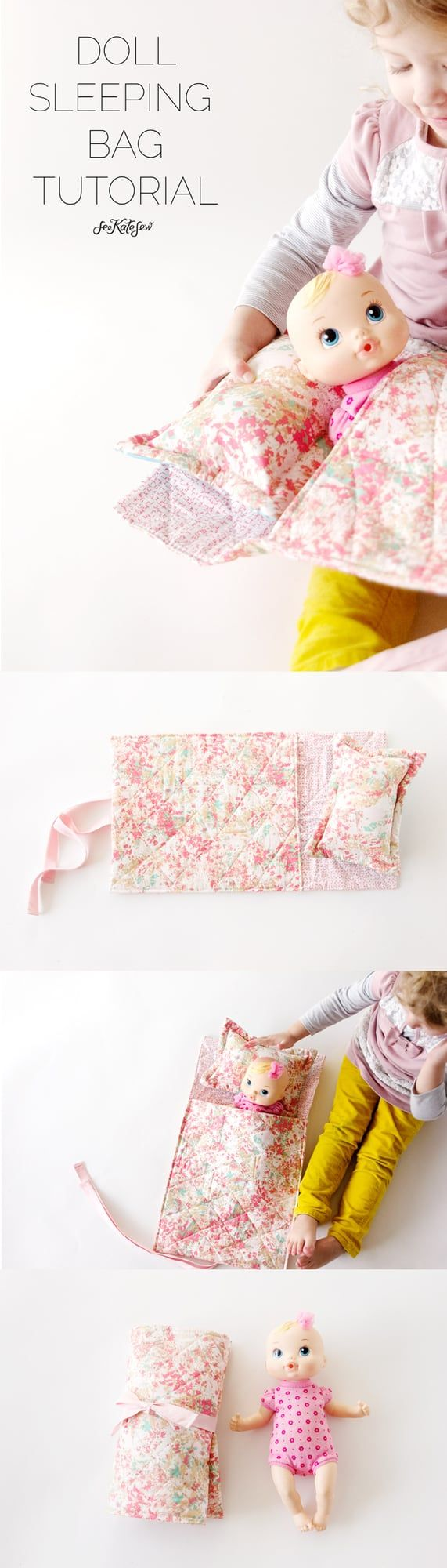 Or sleeping bags clothes pegs optional fairy lights optional - For More Handmade Gift Ideas Check Out My Buy Diy Series And This Could Totally Work Buy A Doll And Diy A Sleeping Bag