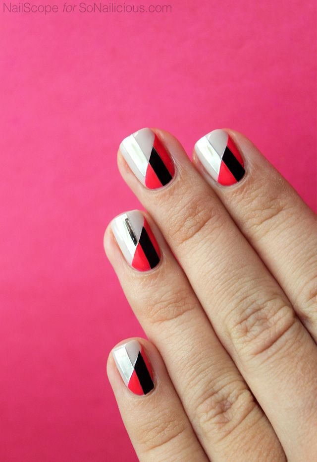 3 Funky Nail Art Ideas To Try This Weekend. Tutorials Provided ...