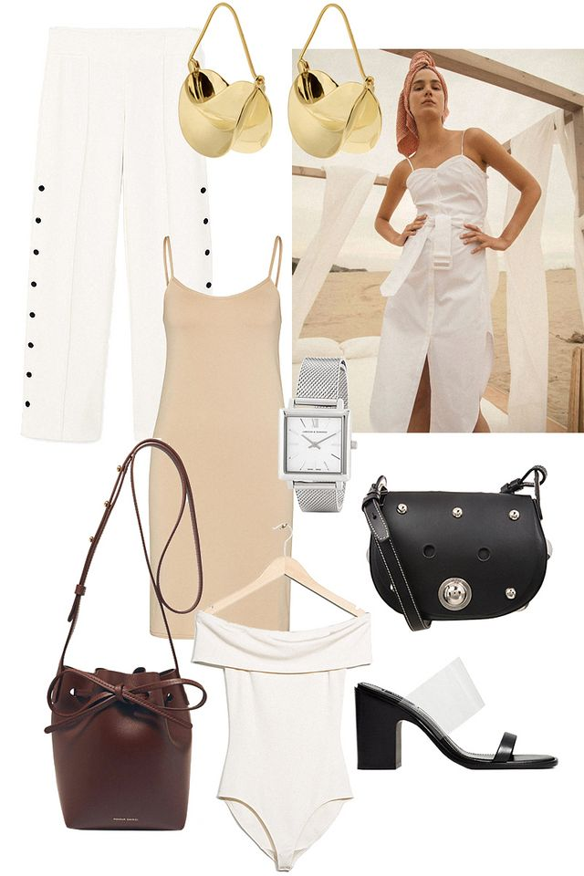 0f3e2b8ce1751 Edited the Label Bucket Bag Mansur Gavriel Off-shoulder body   Other  Stories Watch Larsson   Jennings Bag Sonia by Sonia Rykiel Sandals
