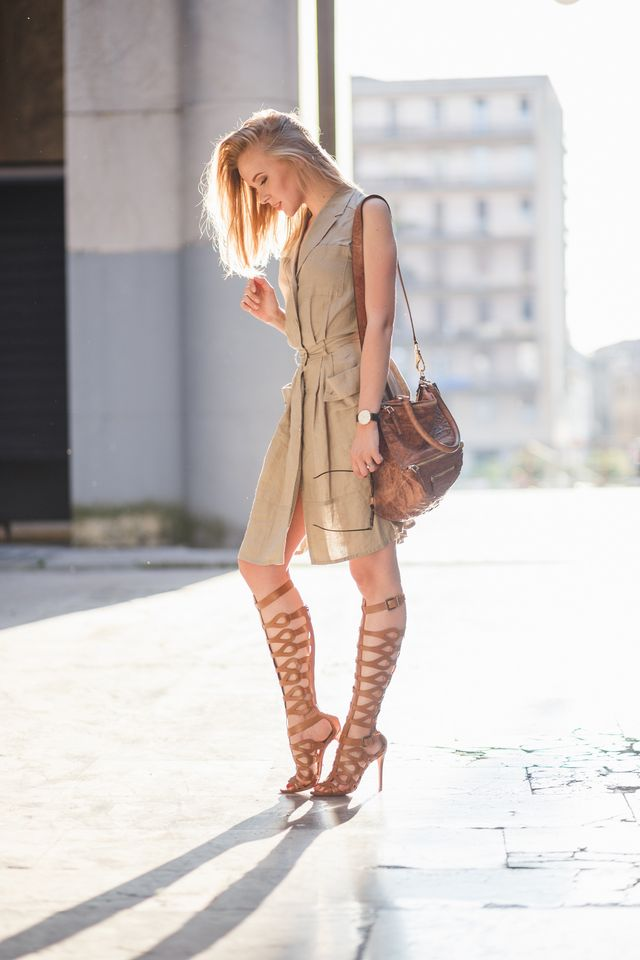 4456e81a7e SCHUTZ GLADIATORS IN THE CITY CENTRE | TheCabLook by Darya Kamalova ...