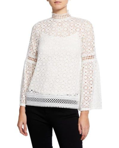 c156b057e7f606 Holiday Party Week  Lace Blouses