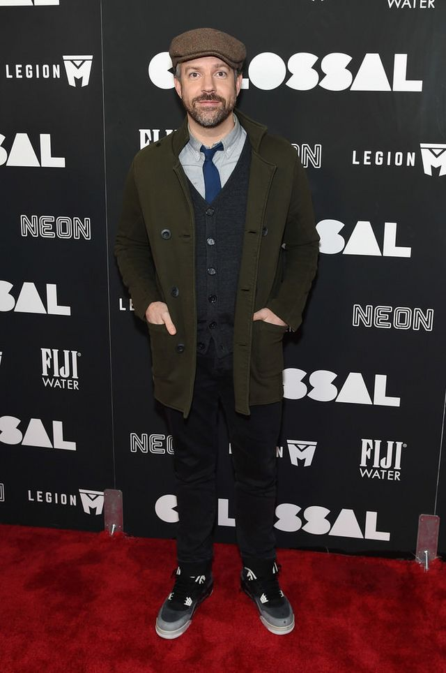 """134fcd048cc Jason Sudeikis at the """"Colossal"""" New York Premiere"""