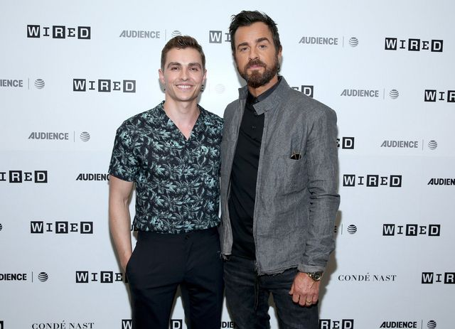 Dave Franco and Justin Theroux, Totally Casual Dudes, at Comic-Con 2017