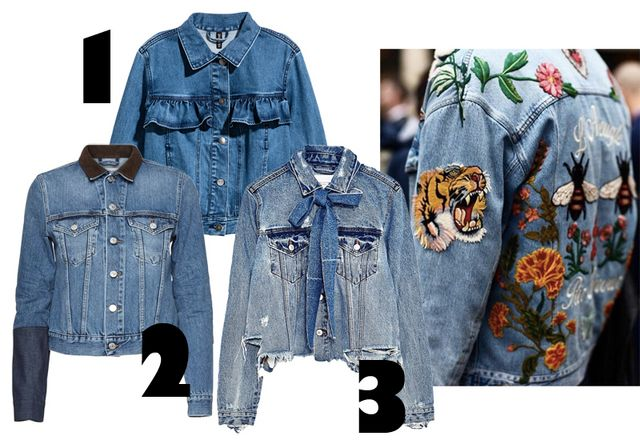 8f4a02fc ... new take on the denim jackets. You can find loads of versions with back  embroidery, and some really cute ones with details like volanges and bows,  ...