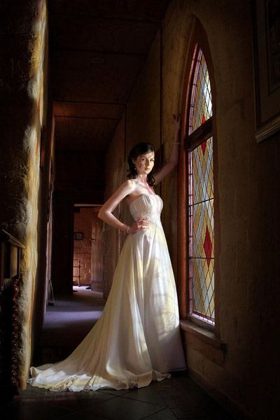 60eb33fed2d Real Brides in Their Wedding Dresses  A-Line Wedding Dresses ...