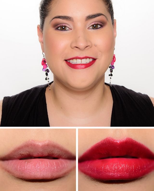 Givenchy rouge insomnie wanted coral ultravioline rouge interdit satin lipsticks temptalia for Givenchy rouge miroir lipstick