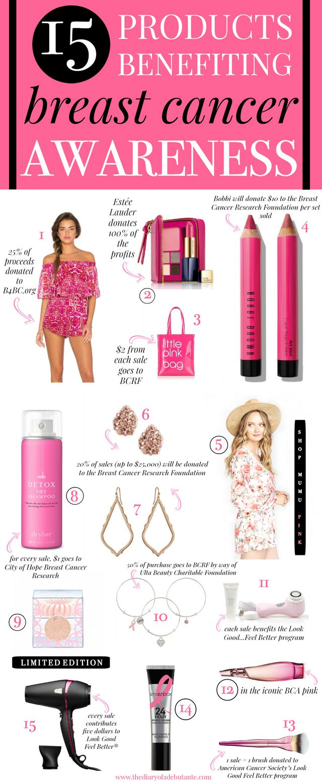 Hope Is the New Pink: 15 Products Benefiting Breast Cancer Awareness ...
