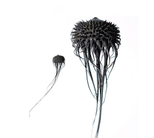 Otherworldly Metal Organisms Welded by Mylinh Nguyen