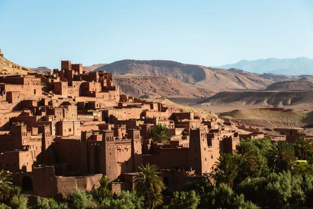 Traditional Berber Architecture Stock Photos & Traditional