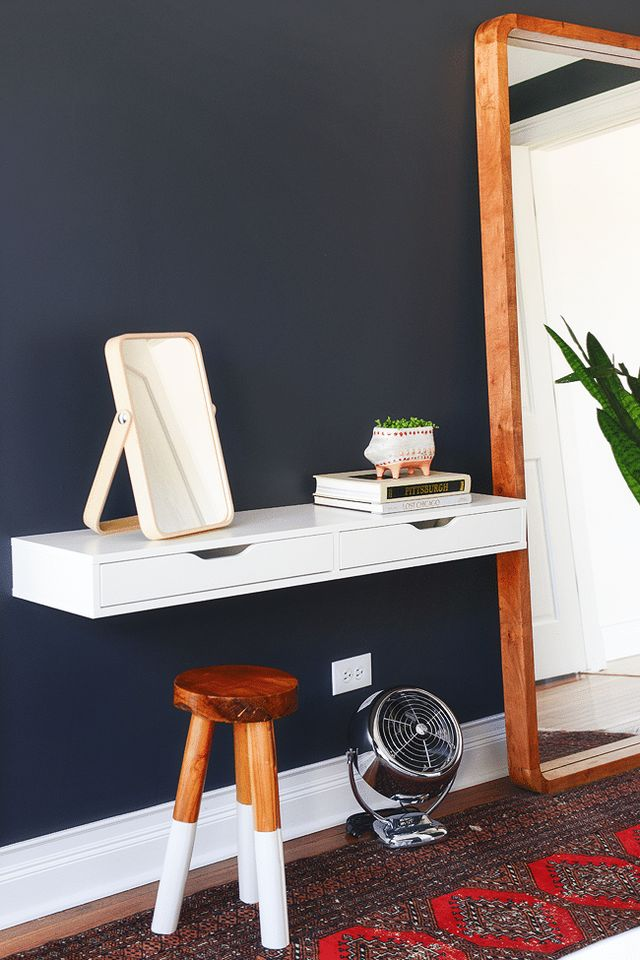 Ikea Ekby Turned Vanity Will It Float Yellow Brick