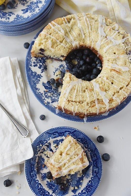 Lemon Blueberry Streusel Coffee Cake Your Homebased Mom