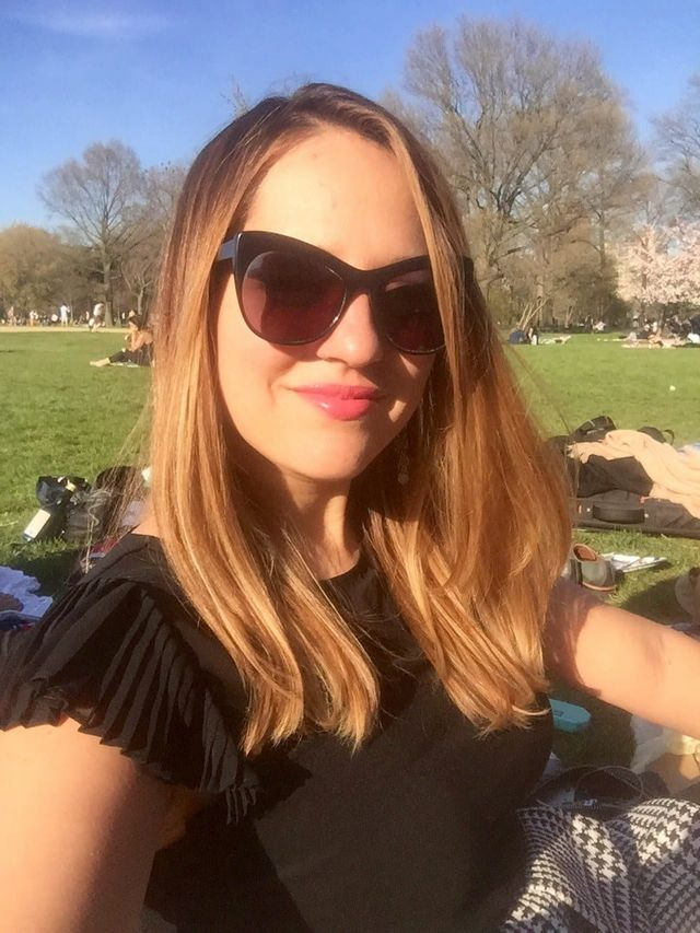 4d2a9ff5cc Imperfect Selfie  In Central Park on a warm April day
