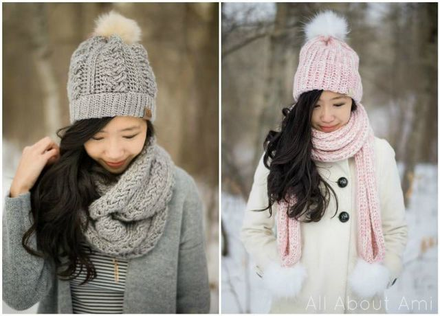 2d5d298bec963 ... the Braided Cabled Slouchy Beanie   Cowl